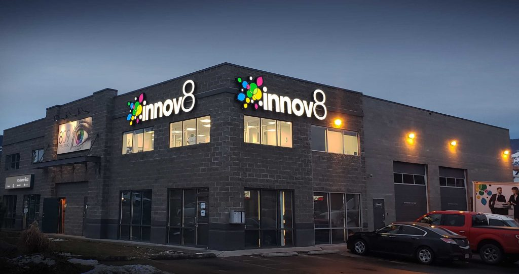 Illuminated signage for your business in Kelowna, Vernon
